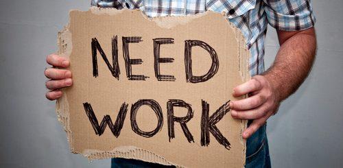без работа